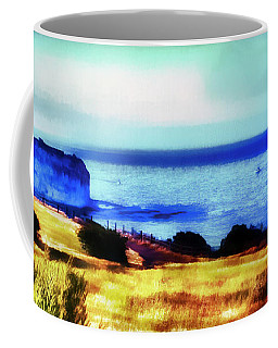 Coffee Mug featuring the photograph Abalone Cove by Joseph Hollingsworth
