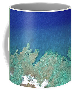 Abstract Aerial Reef Coffee Mug