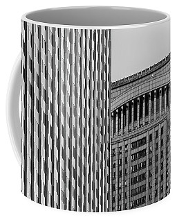 Abstract Architecture - New York Coffee Mug
