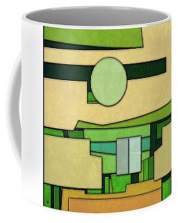 Abstract Cubist Coffee Mug