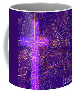 Abstract Easter Theme Coffee Mug