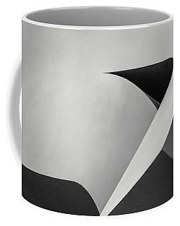 Abstract In Black And White Coffee Mug