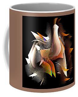Abstract Peacock Coffee Mug