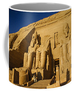 Abu Simbel Coffee Mug
