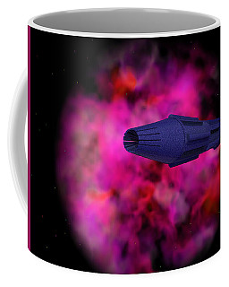 Coffee Mug featuring the photograph Adrift by Mark Blauhoefer