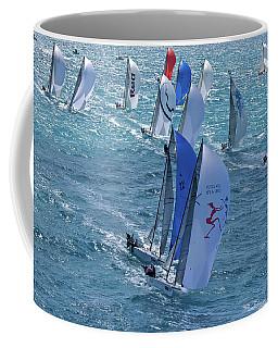Aerial Miami Coffee Mug