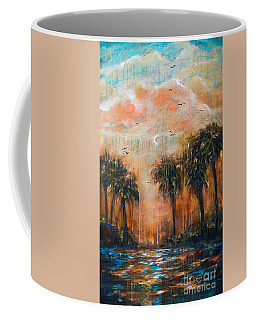 Afternoon On The River Coffee Mug