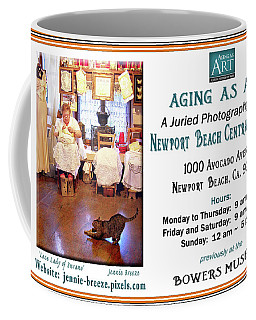 Aging As Art Exhibit Coffee Mug