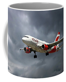 Air Canada Rouge Airbus A319-114 Coffee Mug
