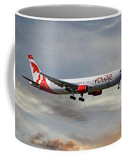 Air Canada Rouge Boeing 767-35h 122 Coffee Mug