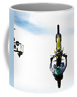 Airborne Motorcycle Performance Coffee Mug by Yurix Sardinelly