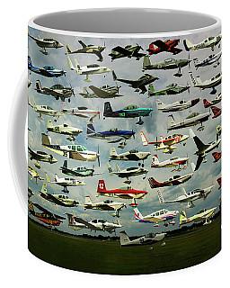 Airventure Cup Air Race, 2017 - Panorama Coffee Mug