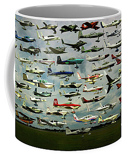 Airventure Cup Air Race, 2017 - Panorama Coffee Mug