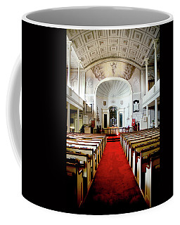 Coffee Mug featuring the photograph Aisle Of God by Greg Fortier