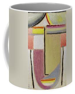 Alexej Von Jawlensky 1864 1941  Small Abstract Head Coffee Mug