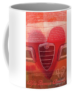 Alfa Romeo Valentine Coffee Mug
