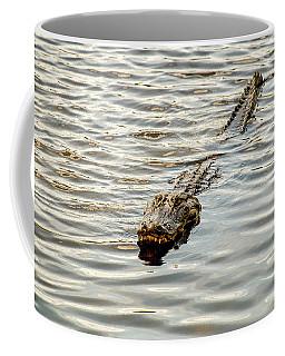 Alligator In Lake Alice Coffee Mug