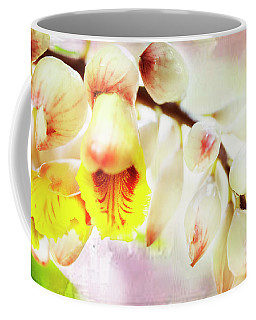 Coffee Mug featuring the photograph Alpinial Galangal by MaryJane Armstrong