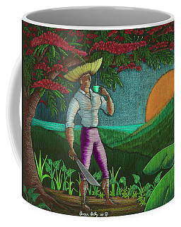 Coffee Mug featuring the painting Amanecer En Borinquen by Oscar Ortiz
