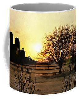 Amarillo Sunset Coffee Mug by Ricky Dean