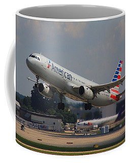 Coffee Mug featuring the photograph American Airlines N545uw by Joseph C Hinson Photography