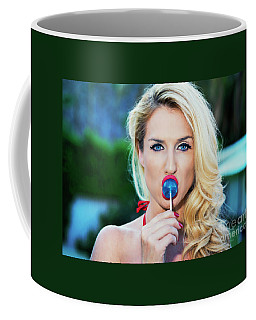 Coffee Mug featuring the photograph American Beauty No9098 by Amyn Nasser