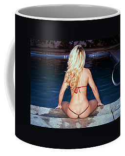 Coffee Mug featuring the photograph American Beauty No9173 by Amyn Nasser