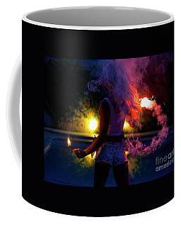 Coffee Mug featuring the photograph American Beauty No9372 by Amyn Nasser