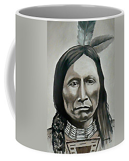 American Horse Coffee Mug by Michael  TMAD Finney