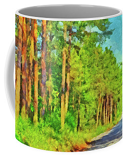 An Old Logging Road In Sleeping Bear Dunes National Lakeshore Coffee Mug
