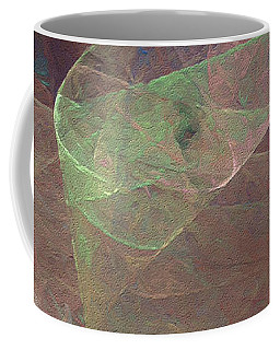 Coffee Mug featuring the digital art Andee Design Abstract 66 2017 by Andee Design