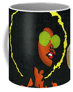 Angela Sings Coffee Mug
