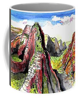 Angels Landing-zion Coffee Mug