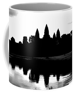 Angkor Wat Black  Coffee Mug