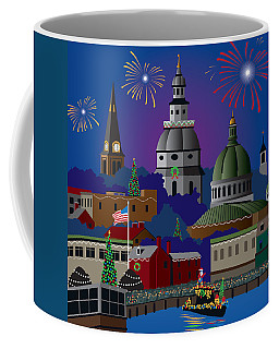 Annapolis Holiday Coffee Mug