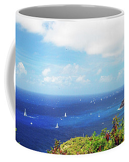 Coffee Mug featuring the photograph Antigua by Gary Wonning