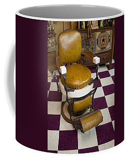 Antique Barber Chair 3 Coffee Mug