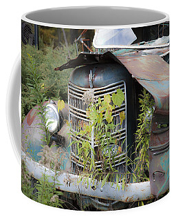 Coffee Mug featuring the photograph Antique Mack Truck by Charles Harden