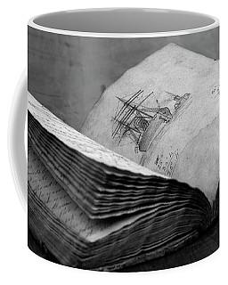 Antique Notebook Coffee Mug