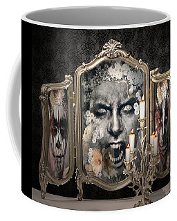 Antique Vampire Paintings Coffee Mug