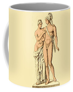 Aphrodite And Ares, Greek Olympians Coffee Mug
