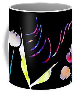 Aqua Flora Coffee Mug