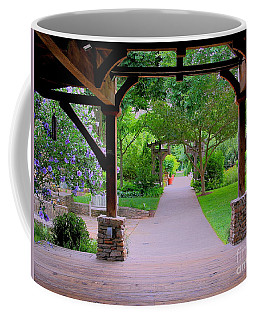 Arboretum Shelter And Walk Coffee Mug