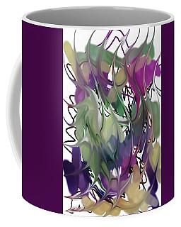 Art Abstract Coffee Mug by Sheila Mcdonald