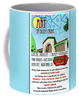 Art In Bixby Park Coffee Mug