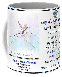 Art That's Small At City Hall  Coffee Mug by Jennie Breeze
