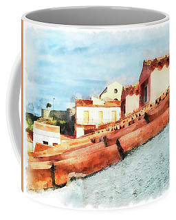 Arzachena Roof And Church Coffee Mug