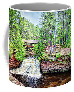 As The Water Falls Coffee Mug
