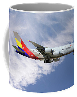 Asiana Airlines Airbus A380-841 Coffee Mug