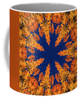 Coffee Mug featuring the photograph Aspen Kaleidoscope  by Bill Barber